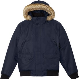 Promotional Hutton Insulated Bomber Jacket by TRIMARK