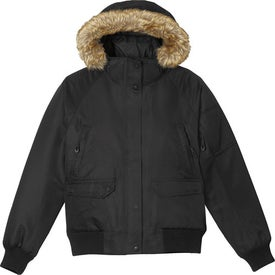 Advertising Hutton Insulated Bomber Jacket by TRIMARK