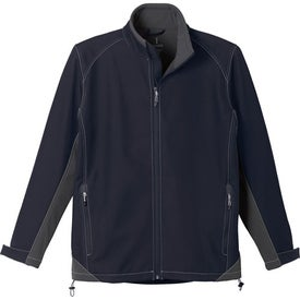 Printed Iberico Softshell Jacket by TRIMARK