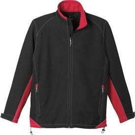 Promotional Iberico Softshell Jacket by TRIMARK