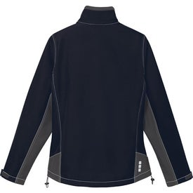 Iberico Softshell Jacket by TRIMARK Printed with Your Logo