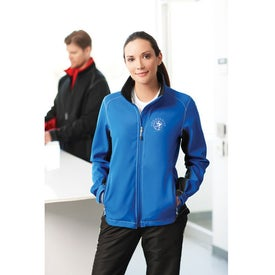 Branded Iberico Softshell Jacket by TRIMARK