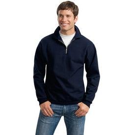 JERZEES 1/4 Zip Sweatshirt w/ Cadet Collar for Customization