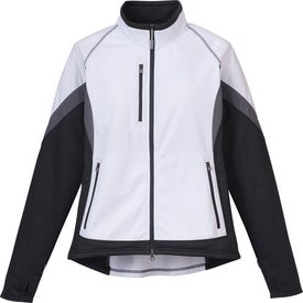 Jozani Hybrid Softshell Jacket by TRIMARK Printed with Your Logo