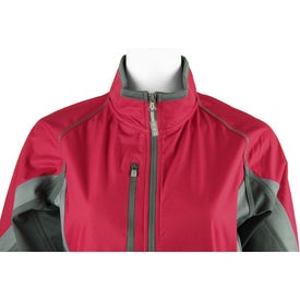 Jozani Hybrid Softshell Jacket by TRIMARK Imprinted with Your Logo