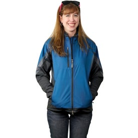 Jozani Hybrid Softshell Jacket by TRIMARK Branded with Your Logo