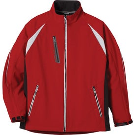 Katavi Softshell Jacket by TRIMARK Printed with Your Logo