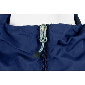 Branded Kinney Packable Jacket by TRIMARK