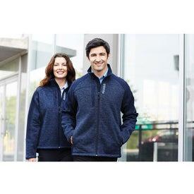 Custom Kitulo Hybrid Softshell Jacket by TRIMARK