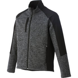 Printed Kitulo Hybrid Softshell Jacket by TRIMARK