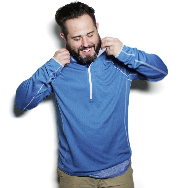 Knew Knit Half Zip Jacket by TRIMARK (Men's)