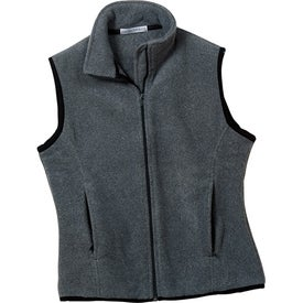 Branded Port Authority Ladies R-Tek Fleece Vest