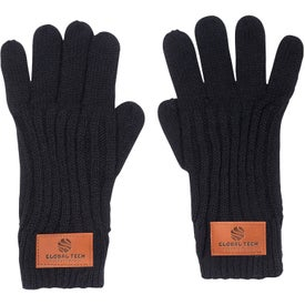 Leeman Rib Knit Gloves (Unisex)