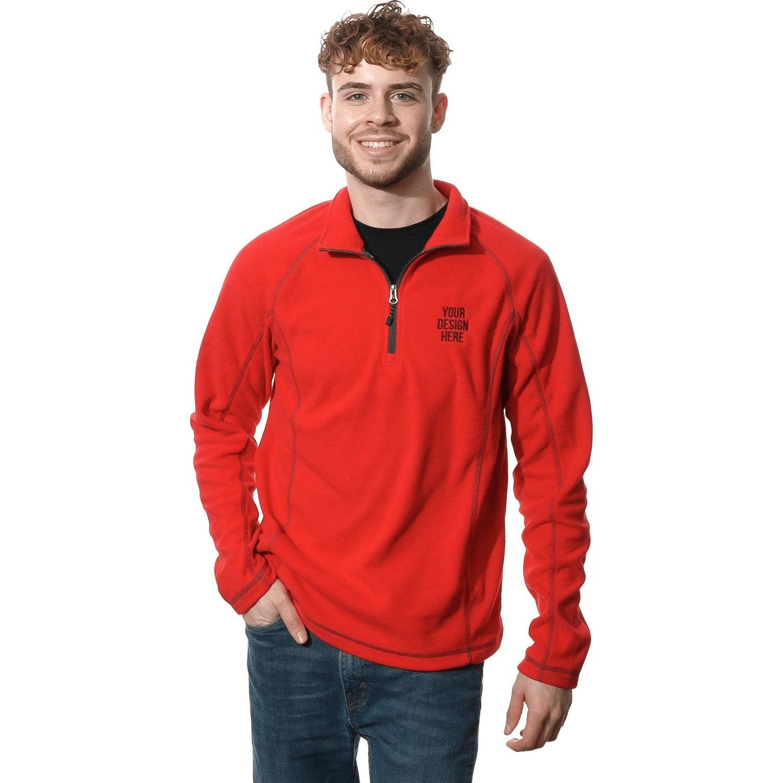 Bowlen Polyfleece 1/4 Zip Pullover by TRIMARK (Men's)
