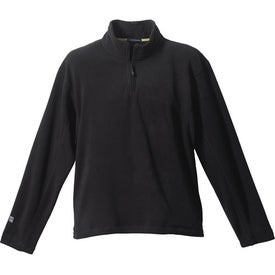 Personalized Lugano Microfleece Quarter Zip Pullover by TRIMARK