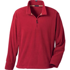 Lugano Microfleece Quarter Zip Pullover by TRIMARK Giveaways