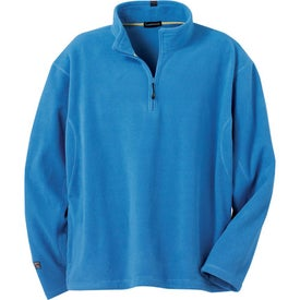Lugano Microfleece Quarter Zip Pullover by TRIMARK (Men's)