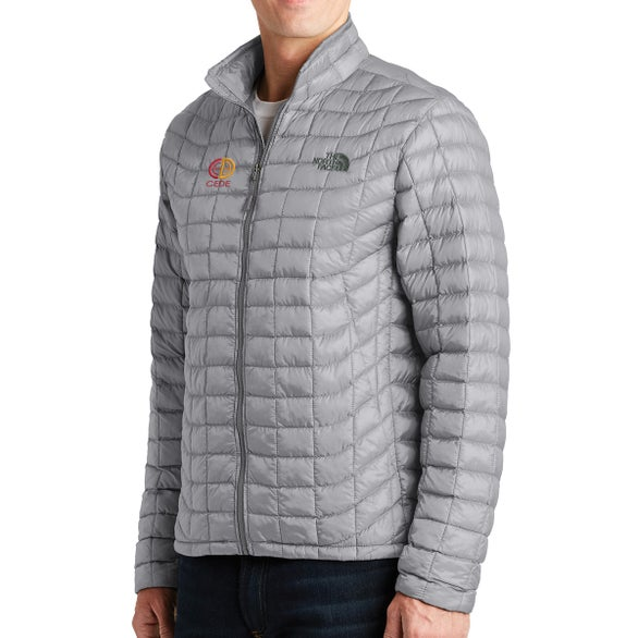 Mid Gray North Face ThermoBall Trekker Jacket
