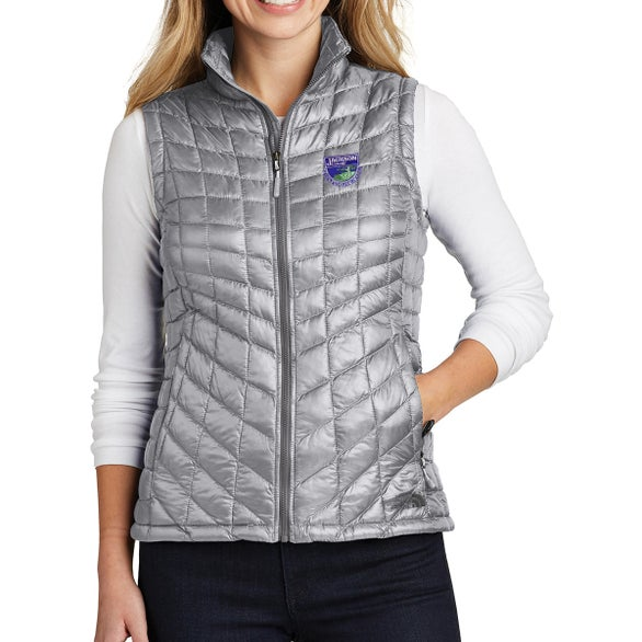 Mid Gray North Face ThermoBall Trekker Vest