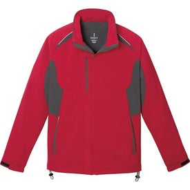 Ortega Insulated Softshell Jacket by TRIMARK with Your Logo
