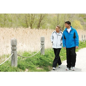 Ortega Insulated Softshell Jacket by TRIMARK Branded with Your Logo