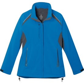 Printed Ortega Insulated Softshell Jacket by TRIMARK