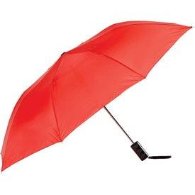 Imprinted Poppin Auto-Open Folding Umbrella