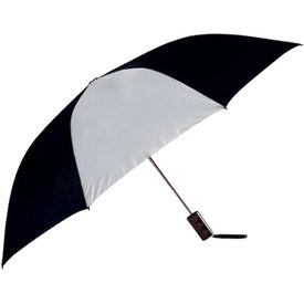 Poppin Auto-Open Folding Umbrella with Your Slogan