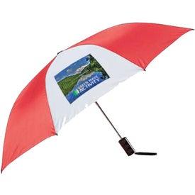 Printed Poppin Auto-Open Folding Umbrella