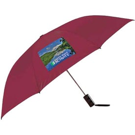 Poppin Auto-Open Folding Umbrella for Marketing