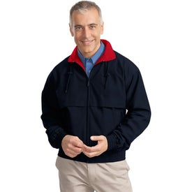 Port Authority Classic Poplin Jacket with Your Logo