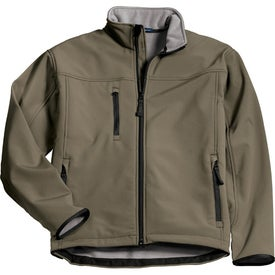 Printed Port Authority Glacier Soft Shell Jacket