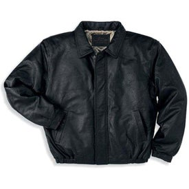 Port Authority Leather Bomber Jacket