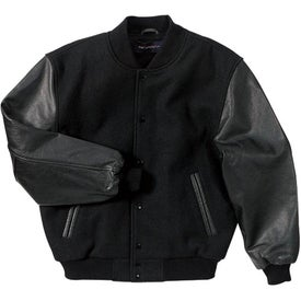 Port Authority Wool and Leather Letterman