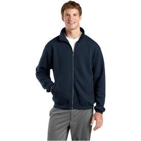 Sport-Tek Full Zip Sweatshirt Printed with Your Logo