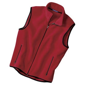 Port Authority R-Tek Fleece Vest for Advertising