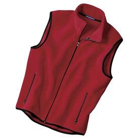 Port Authority R-Tek Fleece Vest for Advertising