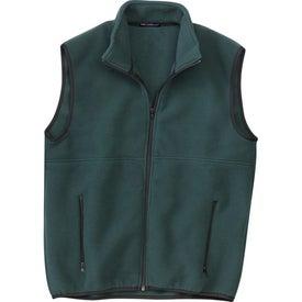 Printed Port Authority R-Tek Fleece Vest