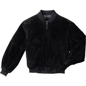 Customized Port Authority Sueded Leather Letterman Jacket