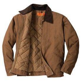 CornerStone Duck Cloth Work Jacket with Your Logo
