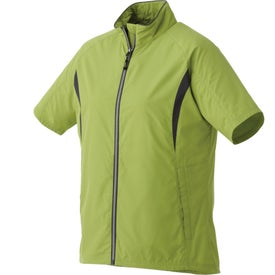 Powell Short Sleeve Full Zip Wind Jacket by TRIMARK (Women's)