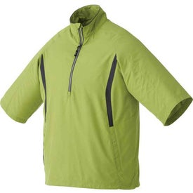 Powell Short Sleeve Half Zip Windshirt by TRIMARK for your School
