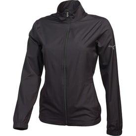 Puma Golf Full Zip Wind Jacket by TRIMARK (Women's)