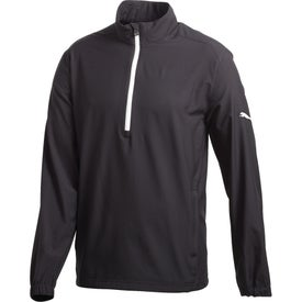 Puma Golf Half Zip Long Sleeve Wind Jacket by TRIMARK (Men's)