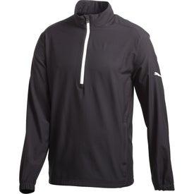Puma Golf Half Zip Long Sleeve Wind Jacket by TRIMARK (Men's)