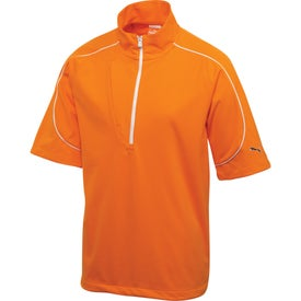 Puma Golf SS Knit Wind Jacket by TRIMARK (Men's)