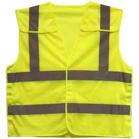Custom Quick Release ANSI 2 Safety Vest