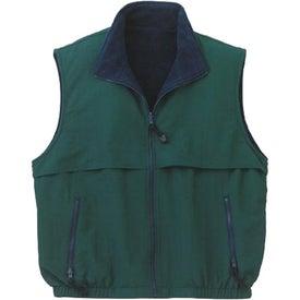 Port Authority Reversible Terra-Tek Nylon and Fleece Vest for Marketing