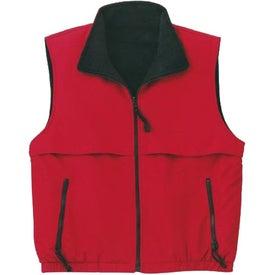 Port Authority Reversible Terra-Tek Nylon and Fleece Vest for your School