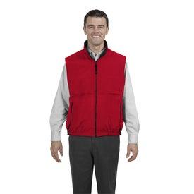 Imprinted Port Authority Reversible Terra-Tek Nylon and Fleece Vest
